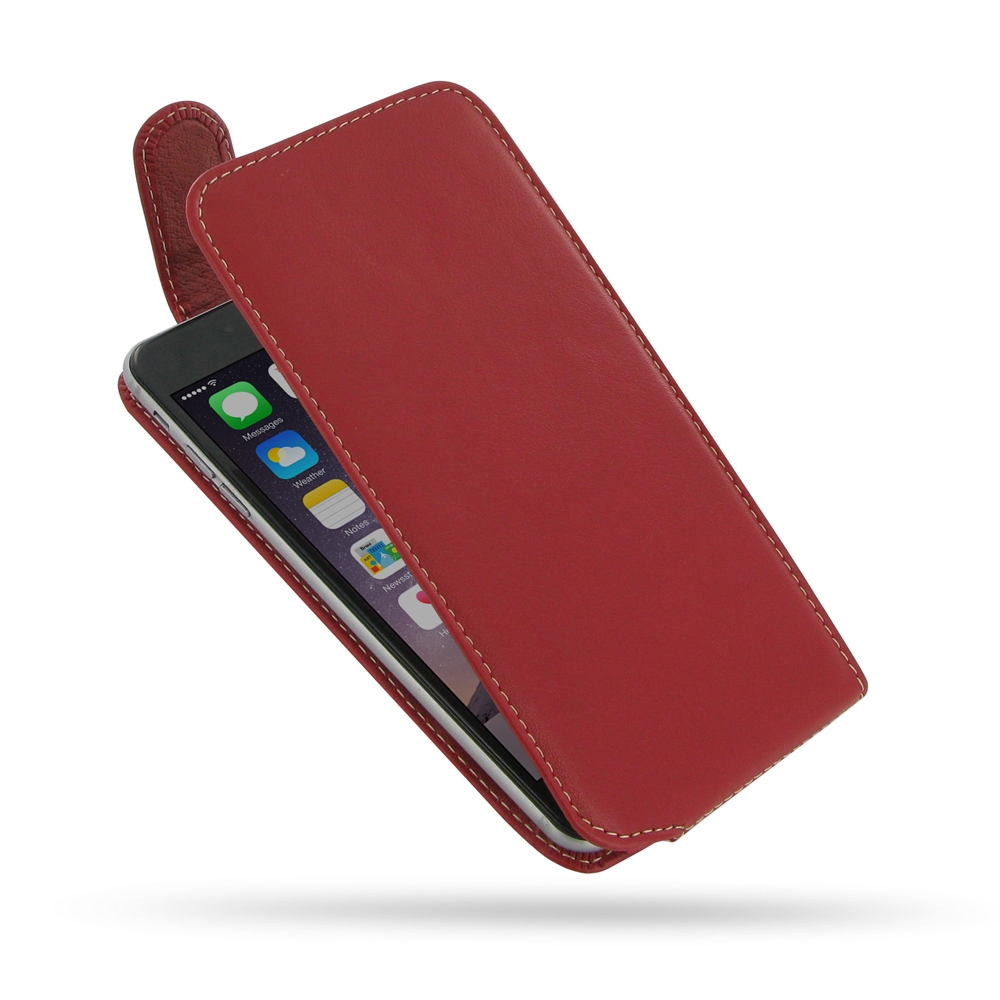 iphone 6 6s plus leather flip top carry case (red) pdair pouch10% off free shipping, buy best pdair top quality handmade protective iphone 6 iphone 6 6s plus leather flip top carry case
