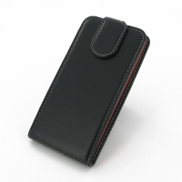 Deluxe Leather Flip Top Case for HTC Desire 310