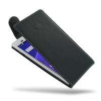 Deluxe Leather Flip Top Case for Sony Xperia T3