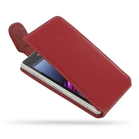 10% OFF + FREE SHIPPING, Buy PDair Top Quality Handmade Protective Sony Xperia Z1 Compact Leather Flip Top Carry Case (Red) online. You also can go to the customizer to create your own stylish leather case if looking for additional colors, patterns and ty