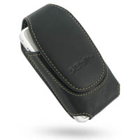 Deluxe Leather Pouch Case for Asus P535 P735 (Extra Large/Black)