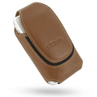 Deluxe Leather Pouch Case for Asus P535 P735 (Extra Large/Brown)