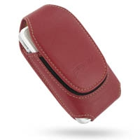 Deluxe Leather Pouch Case for Asus P535 P735 (Extra Large/Red)