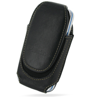 Nokia 5530 XpressMusic Sleeve Leather Pouch Case (Medium/Black) PDair Premium Hadmade Genuine Leather Protective Case Sleeve Wallet