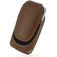 Nokia 5530 XpressMusic Sleeve Leather Pouch Case (Medium/Brown) PDair Premium Hadmade Genuine Leather Protective Case Sleeve Wallet