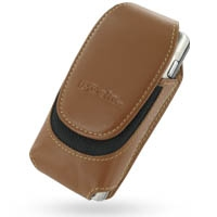Nokia N91 Sleeve Leather Pouch Case (Extra Large/Brown) PDair Premium Hadmade Genuine Leather Protective Case Sleeve Wallet