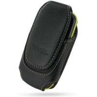 Deluxe Leather Pouch Case for Samsung Galaxy Mini GT-S5570 (Large/Black)