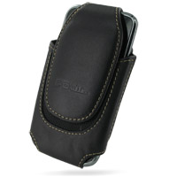 Deluxe Leather Pouch Case for Samsung Galaxy S GT-i9000/Plus GT-i9001 (Extra Large/Black)