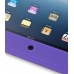 iPad 3G Luxury Silicone Soft Case (Purple) top quality leather case by PDair