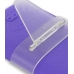 iPhone 3G 3Gs Luxury Silicone Soft Case (Purple) genuine leather case by PDair