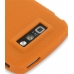 Nokia E71 Luxury Silicone Soft Case (Orange) protective carrying case by PDair