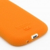 Samsung Galaxy S3 Luxury Silicone Soft Case (Orange) top quality leather case by PDair