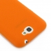 Samsung Galaxy Note 2 Luxury Silicone Soft Case (Orange) protective carrying case by PDair