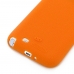 Samsung Galaxy Note 2 Luxury Silicone Soft Case (Orange) handmade leather case by PDair
