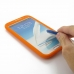 Samsung Galaxy Note 2 Luxury Silicone Soft Case (Orange) offers worldwide free shipping by PDair