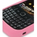 BlackBerry Curve 8520 Luxury Silicone Soft Case (Pink) handmade leather case by PDair