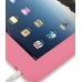 iPad 3G Luxury Silicone Soft Case (Pink) handmade leather case by PDair