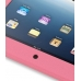 iPad 3G Luxury Silicone Soft Case (Pink) genuine leather case by PDair