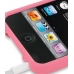 iPod Touch 2nd Luxury Silicone Soft Case (Pink) handmade leather case by PDair