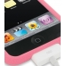iPod Touch 2nd Luxury Silicone Soft Case (Pink) genuine leather case by PDair