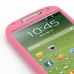 Samsung Galaxy S4 Luxury Silicone Soft Case (Pink) handmade leather case by PDair