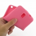 Samsung Galaxy Note 3 Luxury Silicone Soft Case (Pink) genuine leather case by PDair