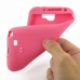 Samsung Galaxy Note 2 Luxury Silicone Soft Case (Pink) genuine leather case by PDair