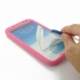 Samsung Galaxy Note 2 Luxury Silicone Soft Case (Pink) custom degsined carrying case by PDair