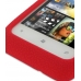 HTC Radar Luxury Silicone Soft Case (Red) genuine leather case by PDair
