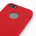 iPhone 5 5s Luxury Silicone Soft Case (Red) handmade leather case by PDair