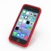 iPhone 5 5s Luxury Silicone Soft Case (Red) custom degsined carrying case by PDair