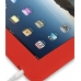 iPad 3G Luxury Silicone Soft Case (Red) handmade leather case by PDair