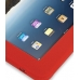 iPad 3G Luxury Silicone Soft Case (Red) genuine leather case by PDair