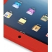 iPad 3G Luxury Silicone Soft Case (Red) top quality leather case by PDair
