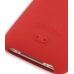 iPhone 3G 3Gs Luxury Silicone Soft Case (Red) handmade leather case by PDair