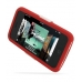 iPhone 3G 3Gs Luxury Silicone Soft Case (Red) custom degsined carrying case by PDair