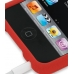 iPod Touch 3rd 2009 Luxury Silicone Soft Case (Red) protective carrying case by PDair