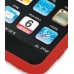 iPod Touch 3rd 2009 Luxury Silicone Soft Case (Red) top quality leather case by PDair