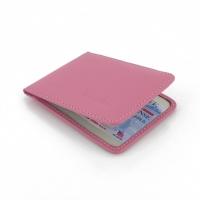 Driving license Leather Case (Petal Pink)
