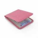 Driving License Leather Case (Petal Pink Pebble Leather) PDair Premium Hadmade Genuine Leather Protective Case Sleeve Wallet