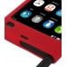Nokia N9 Luxury Silicone Soft Case (Red) handmade leather case by PDair
