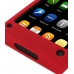 Nokia N9 Luxury Silicone Soft Case (Red) genuine leather case by PDair