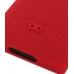Nokia N9 Luxury Silicone Soft Case (Red) top quality leather case by PDair