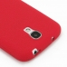 Samsung Galaxy S4 Luxury Silicone Soft Case (Red) protective carrying case by PDair