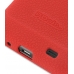 Samsung Galaxy S2 Luxury Silicone Soft Case (Red) handmade leather case by PDair