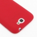 Samsung Galaxy Note 2 Luxury Silicone Soft Case (Red) protective carrying case by PDair