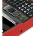 Samsung SGH-i780 Luxury Silicone Soft Case (Red) top quality leather case by PDair