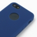 iPhone 5 5s Luxury Silicone Soft Case (Blue) genuine leather case by PDair