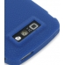 Nokia E71 Luxury Silicone Soft Case (Blue) protective carrying case by PDair