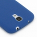 Samsung Galaxy S4 Luxury Silicone Soft Case (Blue) protective carrying case by PDair